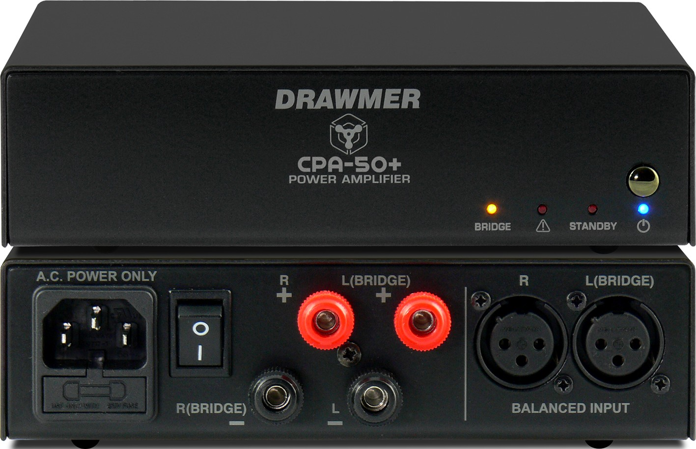 Drawmer Electronics Cpa 50 Power Amplifier Audio Preamplifier See A Larger Image Of The
