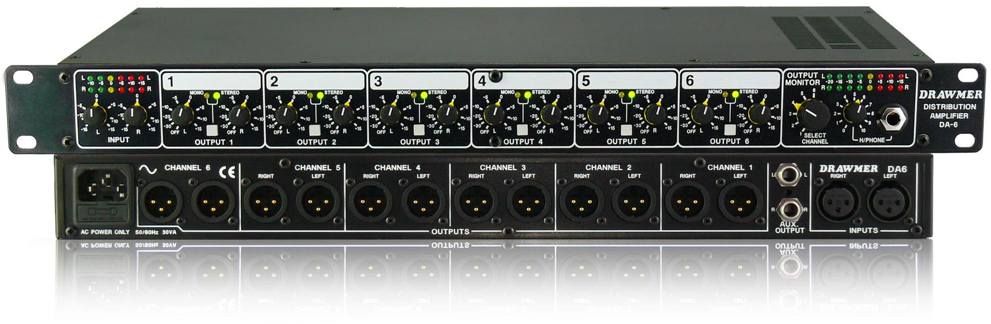 Balanced Audio Distribution Amplifier Schematic Trusted Wiring Diagram Composed Of Lm324 Basiccircuit Circuit Seekiccom Drawmer Electronics Da6 Transformer
